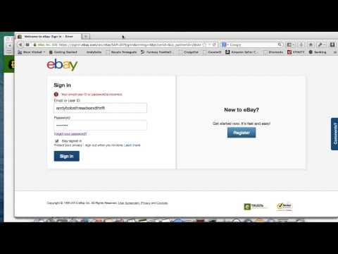 September 2014 Ebay Issues ~ Website Shuts Down