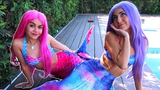 We Became Mermaids For A Day ft Tarayummy 🧜🏼♀️
