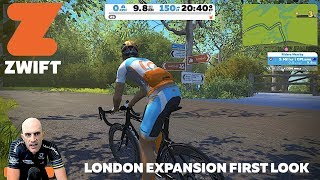 ZWIFT New London Road Expansion - Details & First Ride