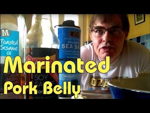 Marinated Pork Belly