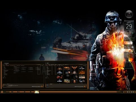 Battlefield 3 Theme for windows 7
