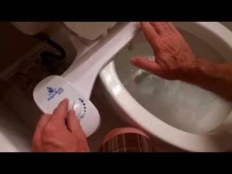 Bidet attachment installation instructions | How to install a bidet attachment (AquaBliss)