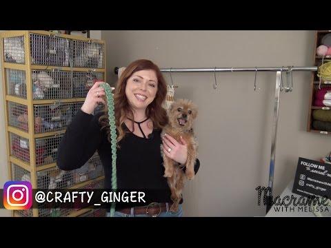 DIY: How To Make a Handmade Macrame Dog Leash