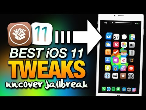 NEW Best iOS 11 TWEAKS On unc0ver JAILBREAK From CYDIA For iPhone