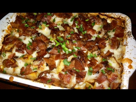 Loaded Cheesy Chicken and Potatoes Casserole-TGK/013
