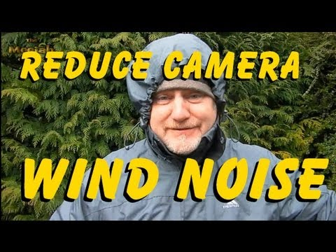 CAMERA TRICK - EASY WIND-NOISE REDUCTION HACK