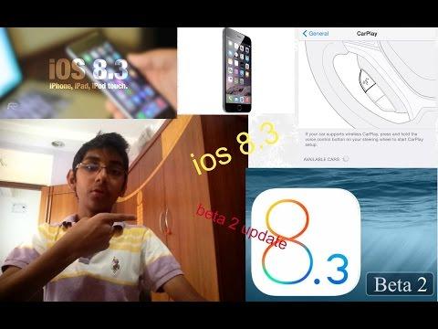 How to update IOS 8.3 Beta 2
