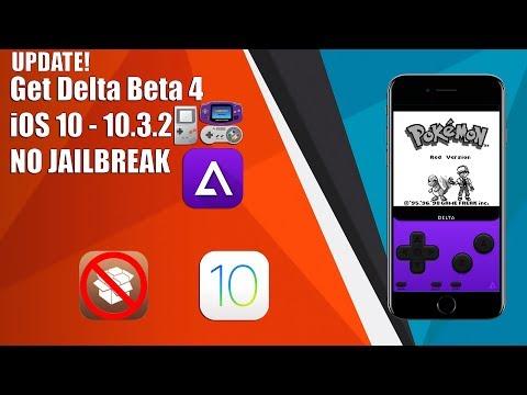 UPDATE! How to get Delta Beta 4 Emulator on iOS 9/10 - 10.3.2 NO JAILBREAK!