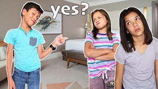 SAYING YES to the BOYS for 24 hours!   Mom, TEENS & Little GIRLS Can't say NO!!