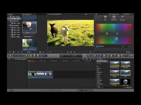 Hvordan man colorgrader i Final Cut Pro X