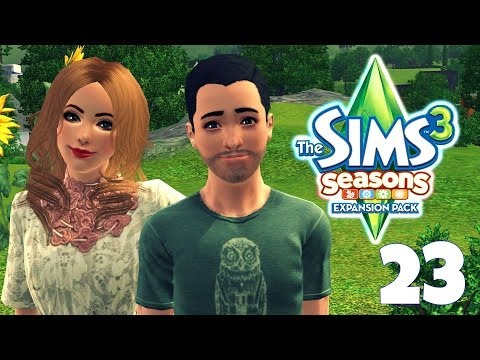 Let's Play: The Sims 3 Seasons (PART 23) - 'The Collection Helper!'