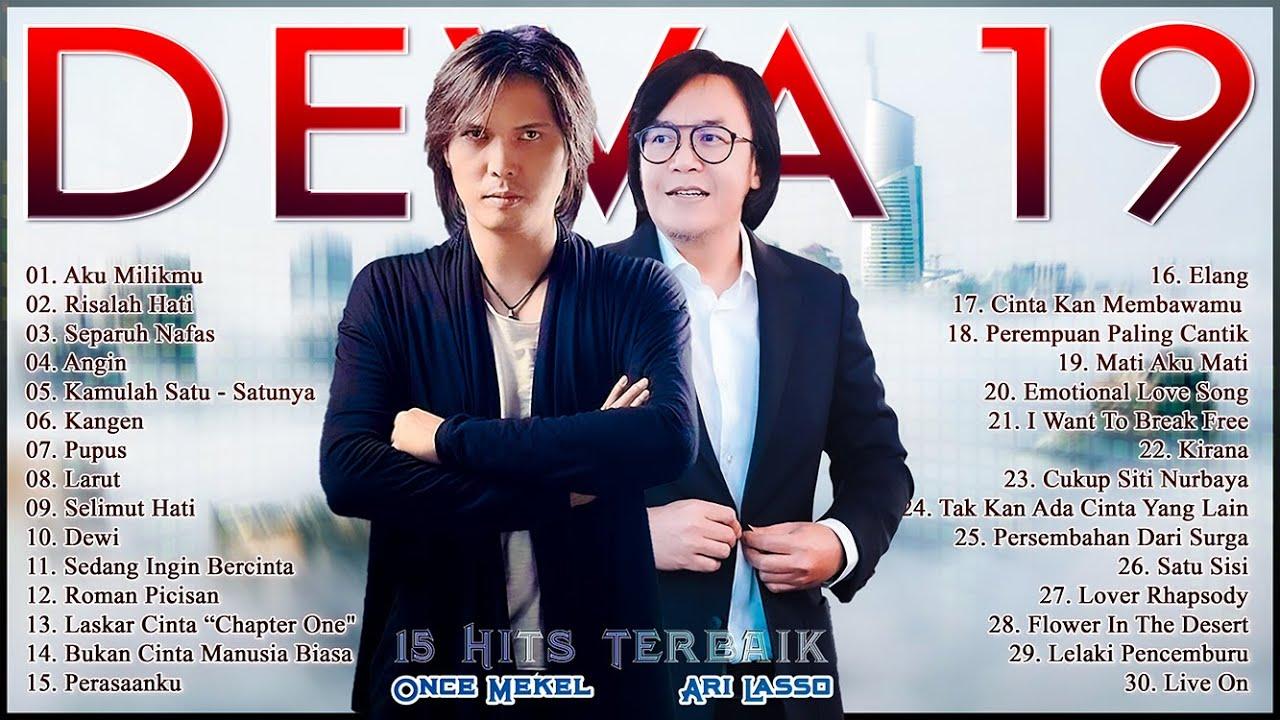 Download DEWA 19 Full Album Era Ari Lasso & Once - Lagu Tahun 90an Indonesia Pop MP3 Gratis