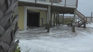 Hurricane Florence - Initial Storm Surge and Winds