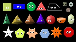 What Shape Is It Collection Shapes Song The Kids Picture Show Fun Edu