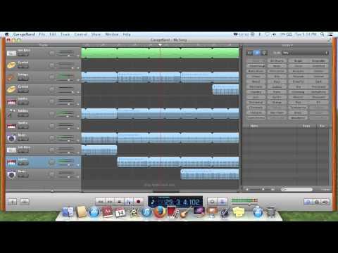 Garage Band (Mac) song #5 Sandy Beat