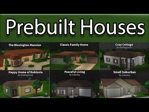Reviewing All Prebuilt Houses! | Roblox - BloxBurg