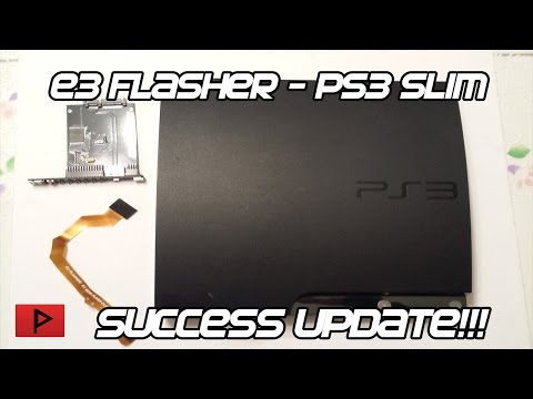 E3 Flasher - PS3 Slim - Success Update! (4.76 OFW to 3.55 OFW)