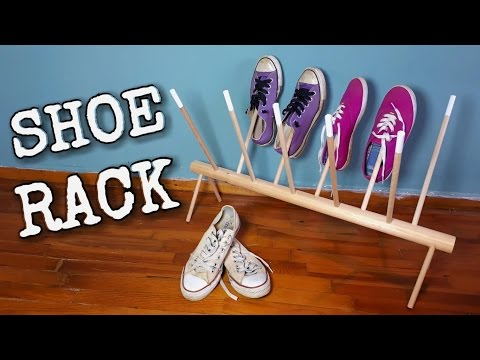 SHOE RACK (English Subtitles) DIY CRAFT