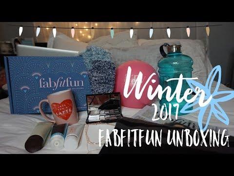 FabFitFun Winter 2017 | Unboxing & Review