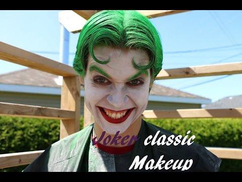 Joker classic makeup (Beginner)