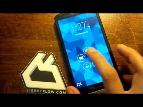 Z30 BlackBerry 10.2.1 Running Android Jelly Bean 4.2.2 Runtime