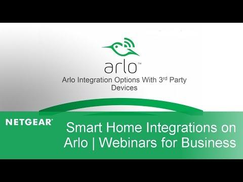 Smart Home Integrations for Arlo   Webinars for Business