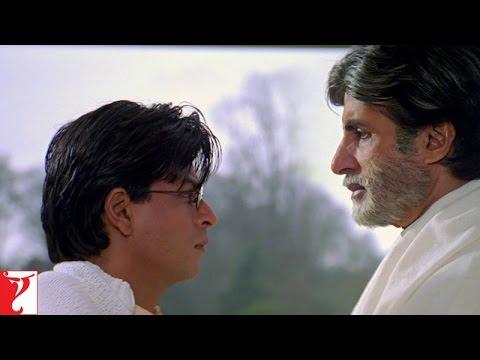Dialogue - Mohabbatein   Ek Baar Phir Ladne Ki Wajah Di   Amitabh Bachchan   Shah Rukh Khan