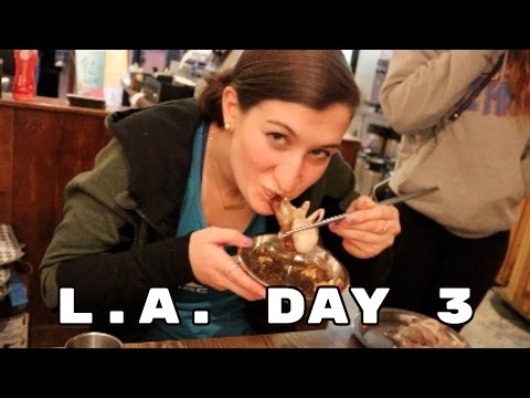 eating 36 types of meat | la day 3