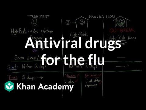 Antiviral Drugs For The Flu