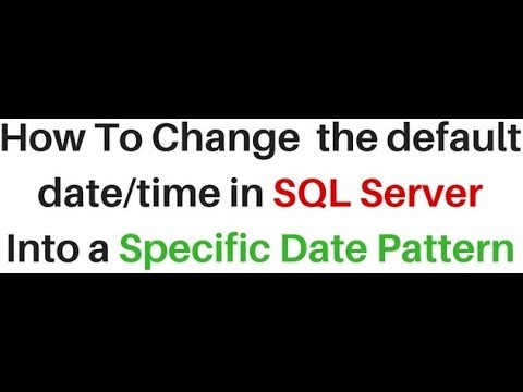 How To Convert Default Format Date Styles In SQL Server
