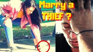 Will He Marry a Thief? (Ultimate Marriage Test) To Catch A Thief - American Justice Warriors