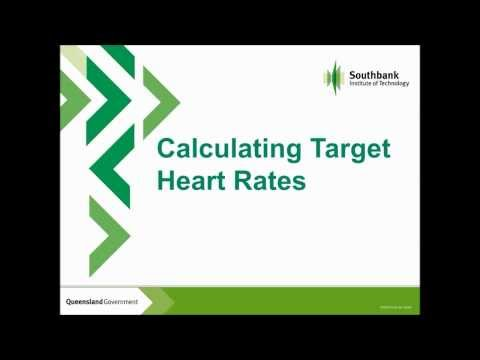 Calculating Target Heart Rates