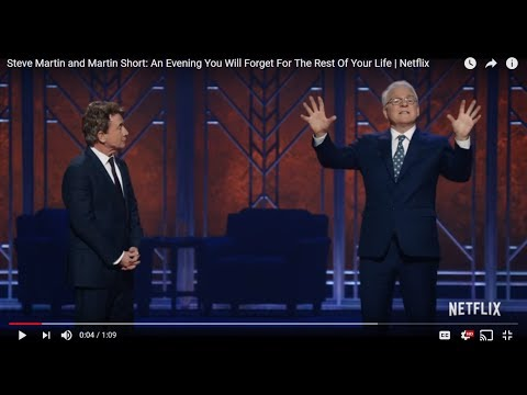 Steve Martin & Martin Short: An Evening You Will Forget for The Rest Of Your Lives (review)
