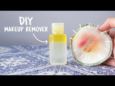 DIY Makeup Remover using Natural Ingredients