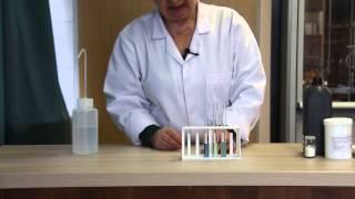 KEMIA   Lúgos kémhatású anyagok vizsgálata