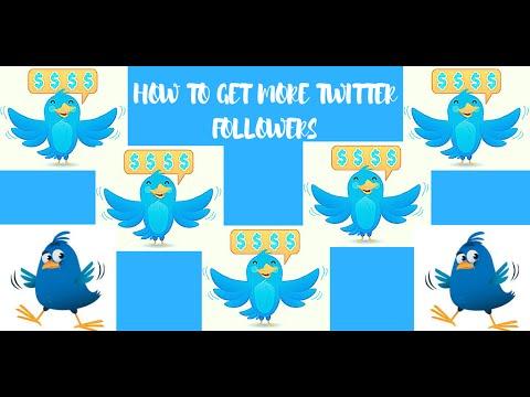 Twitter Followers - How To Get Followers on Twitter