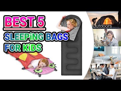 Best 5 Sleeping Bags for Kids in 2018