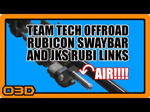 Part One: Team Tech Offroad Rubicon Swaybar Conversion Kit with TTO Disconnect and JKS Rubicon Links