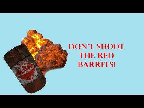Don't Do Red Barrels Kids!