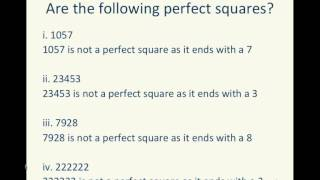 Math :: NCERT :: Class 8 :: Ch 6 Square and Square Roots :: Page 90 Try These