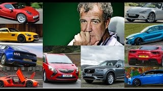 Top 5 Jeremy Clarkson Cars He Loved The Most in 2016
