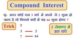COMPOUND INTEREST(चक्रवृद्धि ब्याज) // PART- 1 // by
