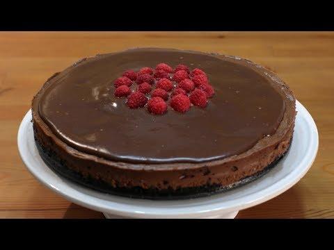 How to make Chocolate Cheesecake | Easy Homemade Chocolate Cheesecake Recipe