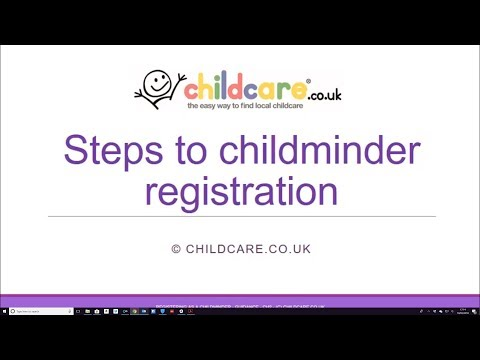 How to Register as a Childminder in England