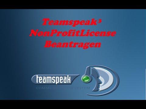 Teamspeak³ NPL Non Profit License Bekommen und installieren | Vid vom alten Kanal