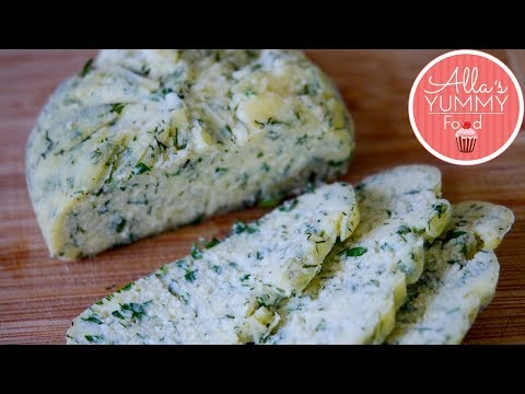 How to make Garlic & Herb Cheese | Easy Home made Cheese Recipe