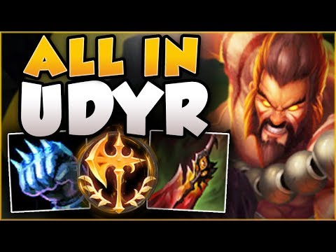 FEAR THE DOT! THIS ALL IN UDYR'S BURST IS BEYOND BUSTED! UDYR TOP GAMEPLAY! - League of Legends