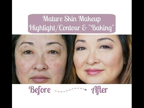 Mature Skin Makeup   Highlight/Contour &