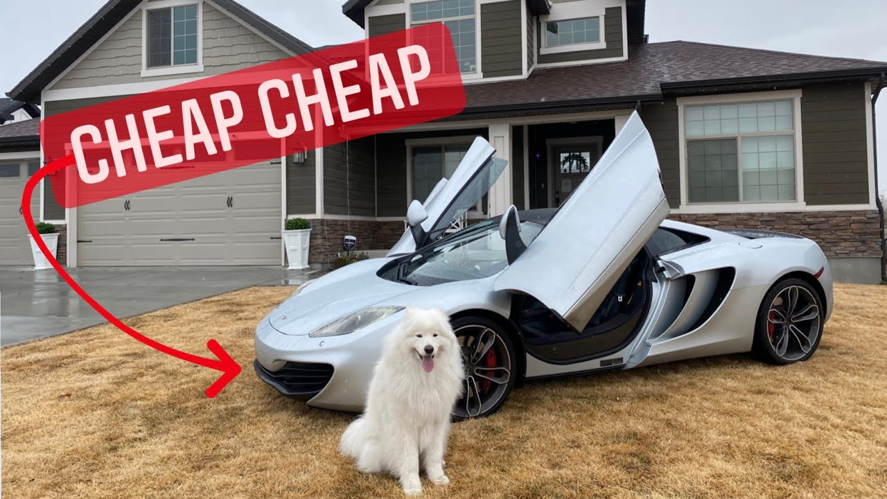 Buying the CHEAPEST McLaren in the World!