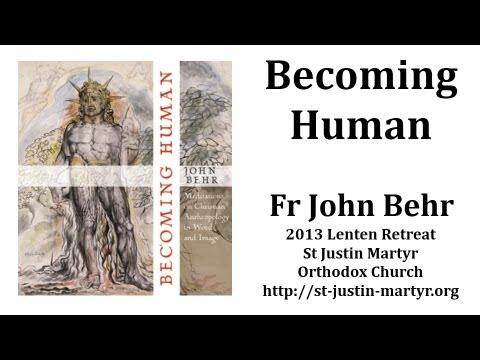 Fr John Behr speaks on the theme of